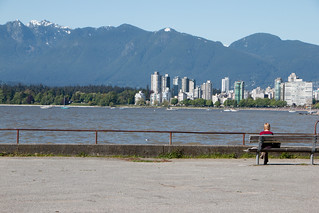 Seawall Relaxing - Vancouver, Canada