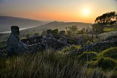 Mount Tumbledown (PentlandPirate of the North) Tags: longarret northwales dinorwic llanberis dinorwig slate ruins sunset nofilters gwynedd derelict