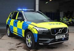 PX18 CWK (Ben - NorthEast Photographer) Tags: cumbria constabulary police volvo xc90 arv armed response vehicle firearms 999 rpu roads policing unit traffic car motor patrols brand new 2018 px18cwk