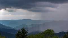 Storm is coming! (AkshayDeshpande) Tags: snowshoe west virginia storm usa america us appalachian mountains monongahela national forest wild wilderness clouds rain trees canon rebel t3i summit landscape overcast