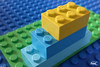Lego Stair (Fippo Gomes) Tags: canon canoneosm50 lego macro stair