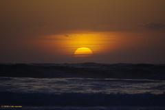 3KB04663a_C (Kernowfile) Tags: cornwall stives porthmeorbeach sunset sky clouds sea water waves pentax