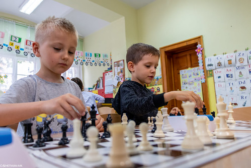 V Turniej Szachowy o Mistrzostwo Przedszkola Miejskiego Nr 1-16