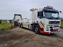 Recovering Scania Unit From Heol-Y-Cyw (JAMES2039) Tags: volvo fm12 ca02tow tow towtruck truck lorry wrecker heavy underlift heavyunderlift 6wheeler 4wheeler rear rearsuspend tractorunit au58acj ford f450 cardiff rescue breakdown ask askrecovery recovery scania heolycyw bridgend