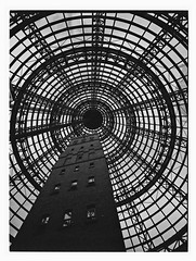 Melbourne's #1 Photo Cliché (@fotodudenz) Tags: fuji fujifilm ga645w ga645wi medium format film rangefinder wide angle point shoot ilford xp2 super melbourne central shot tower cbd victoria australia 2018 28mm 45mm cliche