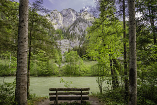 A nice resting place on the banks of the Enns