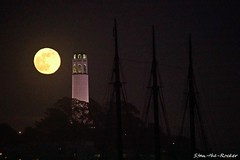 Coit Tower Viewed from Aquatic Park Pier - 052918 - 04 - San Francisco Maritime National Historical Park (Stan-the-Rocker) Tags: stantherocker sony ilce sanfrancisco fishermanswharf northbeach aquaticpark nps ggnra coittower sigma18300