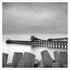 Raynes Jetty, Llanddulas, North Wales (Charles Connor) Tags: llanddulas northwales longexposures raynesjetty seascapes monochromeseascapes monochrome blackandwhite detail contrast skies canon5d3 canonef24105mmlens landscapephotography ndfilter fineartphotography fineart art artistic minimalism