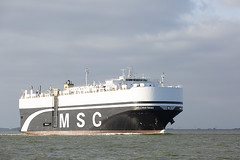 MSC CRISTIANA (angelo vlassenrood) Tags: ship vessel nederland netherlands photo shoot shot photoshot picture westerschelde boot schip canon angelo walsoorden cargo roro msccristiana