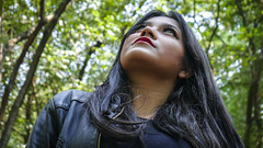 Evelyn 1 (genchivictor) Tags: woods forest bosque mexico retrato portrait black