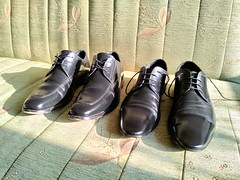 Shoe shine day 17 (Adam11051983) Tags: black captoes derby dress footwear formal lace leather men mens shoe shoes