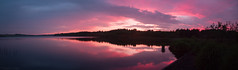 Loch Fitty - Dunfermline (claudiacridge) Tags: scotland loch lake pink sunset longexposure photography landscape