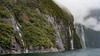 Milford Sound (Ron Scubadiver's Wild Life) Tags: landscape water sea cliffs waterfalls newzealand nikon for mist 50mm