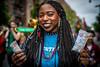 QueensGayParade2018(NY) (bigbuddy1988) Tags: gay parade nyc usa new digital d800 nikon newyork gayprideparade people portrait photography blue woman street urban smile hair queensnewyork