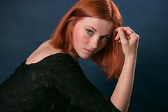 Red_1378 (Maarten's fotografie & meer) Tags: redhair nice model portrait modeling studio blue eyes