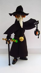 The Plague Doctor (ϟ Sparks ϟ) Tags: bionicle lego plague doctor ccbs hero factory moc