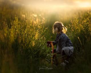 Liwia in the sun