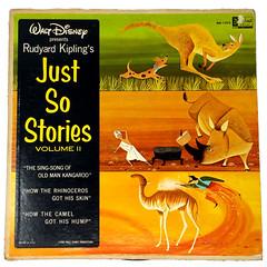 Record - Walt Disney Richard Kipling's Just So Stories A (Eudaemonius) Tags: 20180608 ebay items cleaned books tea vhs tapes eudaemonius bluemarblebounty