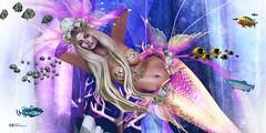SWANK - CC - IRRISISTIBLE SHOP: Y ella no puede amar a un hombre. No puede amar a un hombre que sólo sea hombre, ni a un pez que sea sólo pez. (pattybartavelle) Tags: irrisistible shop swank event mermaid monochromatic sea sl second life fantasy