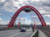 Jivopisnyi (picturesque) bridge in Moscow (janepesle) Tags: russia moscow city urban architecture bridge water landscape москва город мост живописный