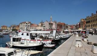 The Harbour of Rovinj