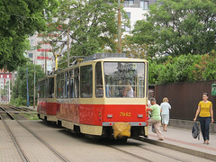 Tatra T6A5, #7942, DP Bratislava (transport131) Tags: tram tramwaj dp bratislava tatra t6a5