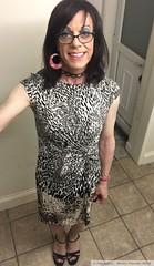 May 2018 (Girly Emily) Tags: crossdresser cd tv tvchix tranny trans transvestite transsexual tgirl tgirls convincing feminine girly cute pretty sexy transgender boytogirl mtf maletofemale xdresser gurl glasses dress tights hose hosiery highheels indoor stilettos