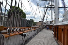 On the deck of the Cutty Sark (daniel0685) Tags: cuttysark ship boat london england uk holiday clipper june 2018