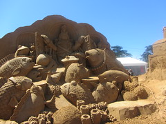 Wonderful mixture of Marine Creatures. Under the Sea, Frankston Sand Sculptures, 2012 (d.kevan) Tags: