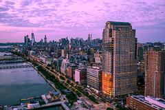 Manhattan (forbidden0907) Tags: pier city river hudsonriver highway cityscape citynights newyorkcity newyork urban skyline citylights skyscraper nightphotography nightshot sunset