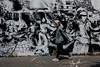 Riots ( serie walkers ) (Jean-Marc Vernier) Tags: streetart streetview streetwalk streetphotography street walk urban city fujifilm fujixt20