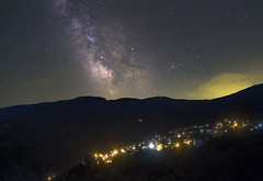 Milky way above Zagora, Greece (Manos Tzavaras) Tags: astrophotography astroscape stars starscape milkyway