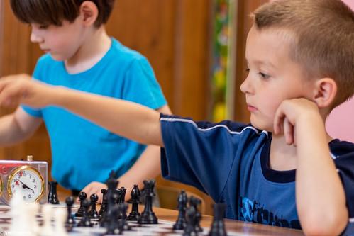 VIII Turniej Szachowy o Mistrzostwo Przedszkola Europejska Akademia Dziecka-21