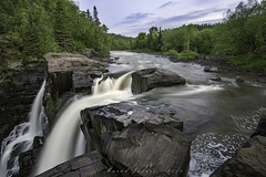 Flowing Silk (Portraits of Nature) Tags: waterfall nature dawn cliffs rocks outdoors hiking forest morning
