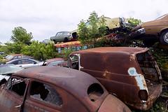 IMG_0619 (joe-stanton) Tags: schmidtssalvageyard salvageyard junkyard rustic cars junk brokencars rust decrepit rural wisconsin