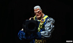 CABLE (THE AMAZING KIKEMAN) Tags: deadpool cable ryan reynolds josh brolin nathan summers wade wilson merc with a mouth 2018 2 comic movie action figures toy biz marvel