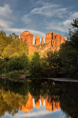 Classic Cathedral Rock (chasingthelight10) Tags: events photography travel landscapes canyons rockformations places arizona sedona cathedralrock oakcreek