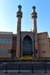 Masjid Al-Zahra (Gabby Canonizado 02 (New account)) Tags: masjidalzahra bluemosque islamicarchitecture sharjah uae unitedarabemirates uaesharjah 240700mmf28 nikon240700mmf28 nikkor240700mmf28 nikond750 nikon d750 yellowcab