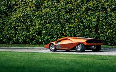 Stratos Zero. (Alex Penfold) Tags: lancia stratos zero orange supercars supercar super car cars autos alex penfold 2018 villa deste italy