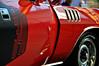 Rallye Red Cuda (Hi-Fi Fotos) Tags: plymouth cuda 1971 71 vintage mopar american musclecar classiccar rallye red 340 smallblock door graphic numbers worldofwheels nikon d5000 hififotos hallewell