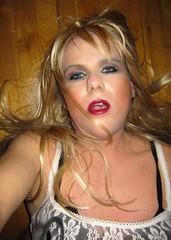 Sweet Surrender (Irene Nyman) Tags: irenenyman dutch crossdress crossdresser irene nyman tranny tgirl transgirl blueeyes cutie babe blonde xdresser mtf lace transvestite cute holland makeup portrait travestiet travestie xdress cd tv hot excited