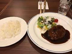 ライスとハンバーグ (96neko) Tags: snapdish iphone 7 food recipe tokyo東京都