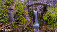 Christine Falls, Mount Rainier National Park (Loowit Imaging - Steve Rosenow, Photographer) Tags: mountrainier mtrainier tahoma mountrainiernationalpark nikon nikond5500 nature scenic scenery volcano volcanic lake forest christinefalls