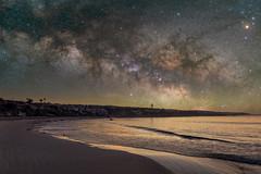 Starry Corona Del Mar (RyanLunaPhotography) Tags: fuji fujifilm socal southerncalifornia xt2 landscape night milky way corona del mar