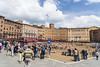 Sunny Day on the Piazza (dcnelson1898) Tags: siena tuscany italy town walls ancient tourist vacation travel