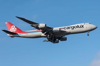Cargolux / B748F / LX-VCG / ELLX