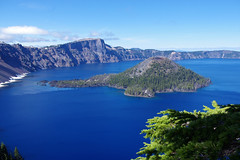 Wizard Island in Crater Lake (Scott Severn) Tags: crater lake wizard island