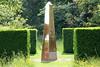 Mirrored obelisk and clipped hedges, Doddington Place near Faversham, Kent (Jim_Higham) Tags: kent england uk historic home house park garden stately estate