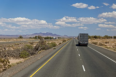 On the road (Guillaume DELEBARRE) Tags: road usa america california canon 6d desert sky truck