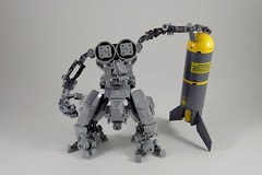Multi Role Droid 1.1 (Marco Marozzi) Tags: lego legomech legodesign legomecha marozzi marco moc mecha mech mechsuit robot droid drone bricks
